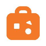 icono de maleta