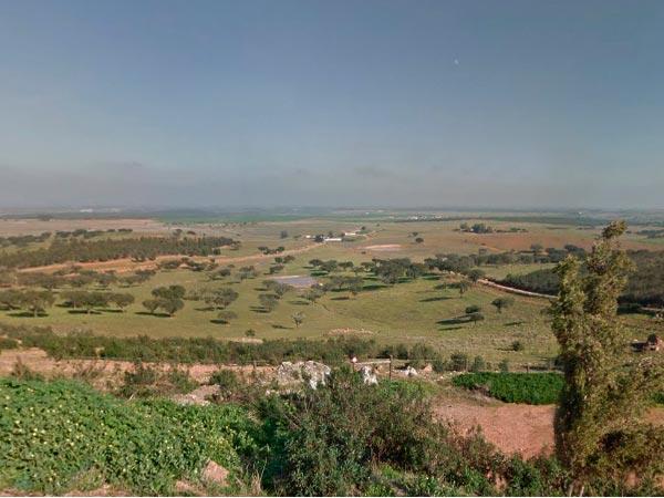 panoramic of the Castro Verde area