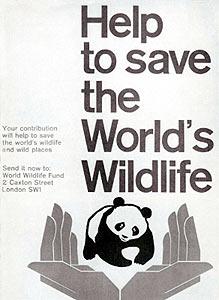 Póster primera campaña WWF